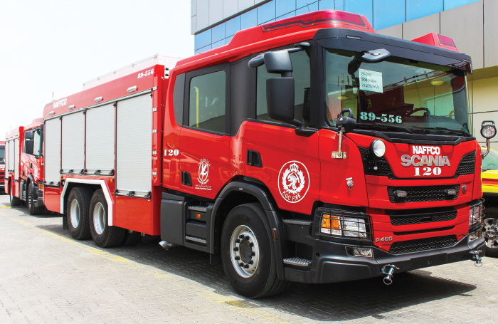 14 NAFFCO Fire Trucks Delivered to Kuwait Oil Company