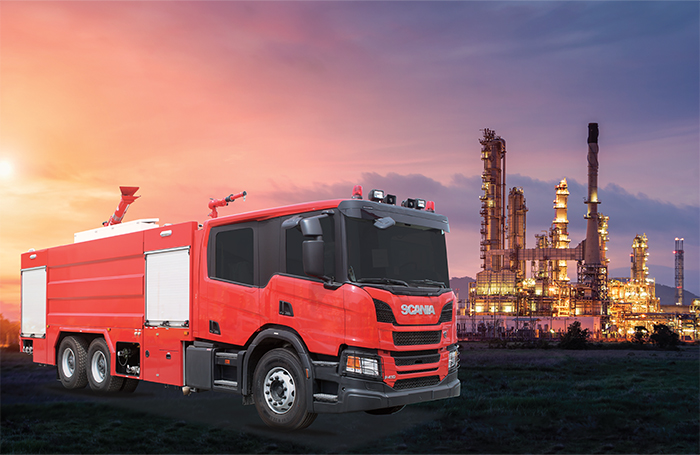 6 NAFFCO Fire Trucks delivered to Missan Oil Fields in Iraq