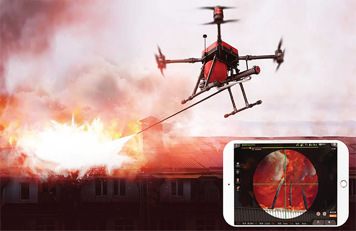 NAFFCO Firefighting Drones